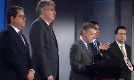 No vamos a dejar descarrilar este proceso de paz, advirtió el Presidente Santos