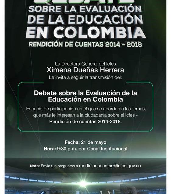 DEBATE SOBRE LA EDUCACION EN COLOMBIA