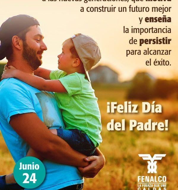 POR  PETICIÓN DE FENALCO  DÍA DEL PADRE SERÁ EL 24 DE JUNIO