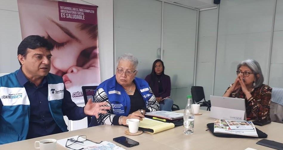LA REPRESENTANTE DE LA ORGANIZACIÓN PANAMERICANA DE LA SALUD EN SU VISITA A CALDAS CALIFICÓ LA ESTRATEGIA ATENCIÓN PRIMARIA SOCIAL COMO INICIATIVA VALIOSA QUE PODRÁ CONTRIBUIR A LOGRAR LOS OBJETIVOS DE DESARROLLO SOSTENIBLE 2030