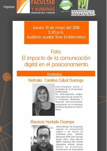 Jornada de Comunicación Organizacional 2018 «Comunicación Digital y Posicionamiento».