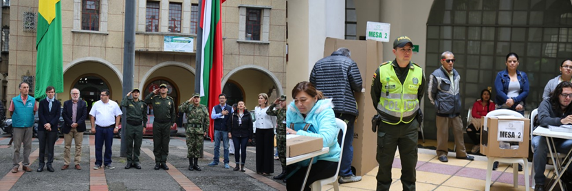 """""""Esta es la jornada electoral más segura de las últimas dos décadas"""": MinDefensa"""
