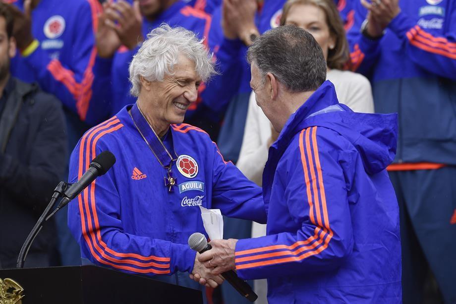 """""""Esperamos seguir consiguiendo logros para este maravilloso país"""": José Néstor Pekerman"""