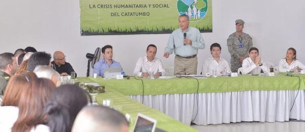 Más de 3.000 mil hombres velan para que el Catatumbo tenga elecciones en paz: Naranjo