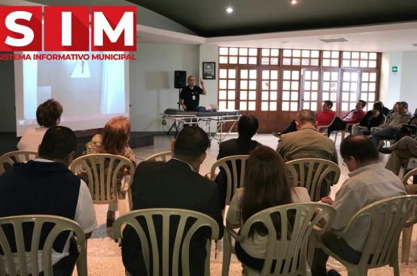 CAPACITACIÓN A RECTORES DE MANIZALES SOBRE RCP Y PREVENCIÓN DE SITUACIONES DISCIPLINARIAS