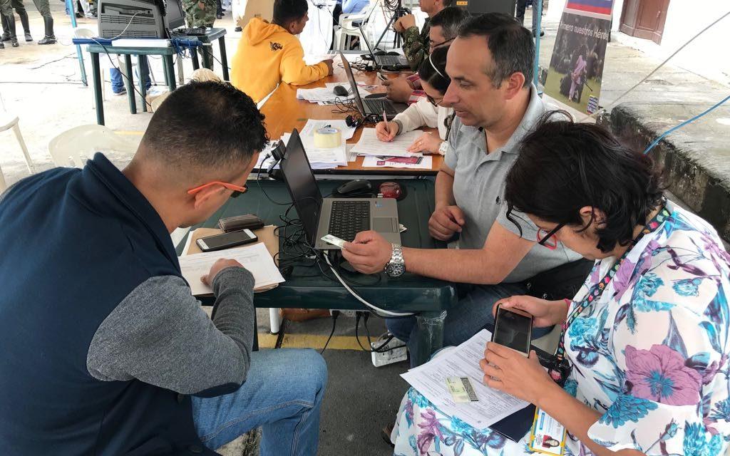 RUTA DEL SERVICIO DEL MINISTERIO DE DEFENSA PARA MANIZALES