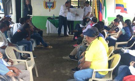 JUEZ AVALÓ EL PROCESO PARA EL RETORNO DE 17 FAMILIAS A SUS TIERRAS EN LA VEREDA EL CONGAL (SAMANÁ). GOBIERNO DE CALDAS INVIERTE 1.080 MILLONES DE PESOS EN SUBSIDIOS DE VIVIENDA, PROYECTOS PRODUCTIVOS Y ATENCIÓN INTEGRAL