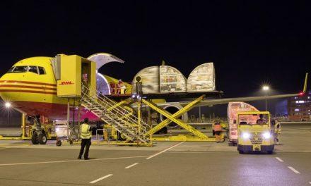 DHL Express presentó en Manizales su vuelo Colombia – Estados Unidos