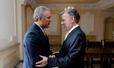 Declaración del presidente electo, Iván Duque, tras reunión de empalme en la Casa de Nariño