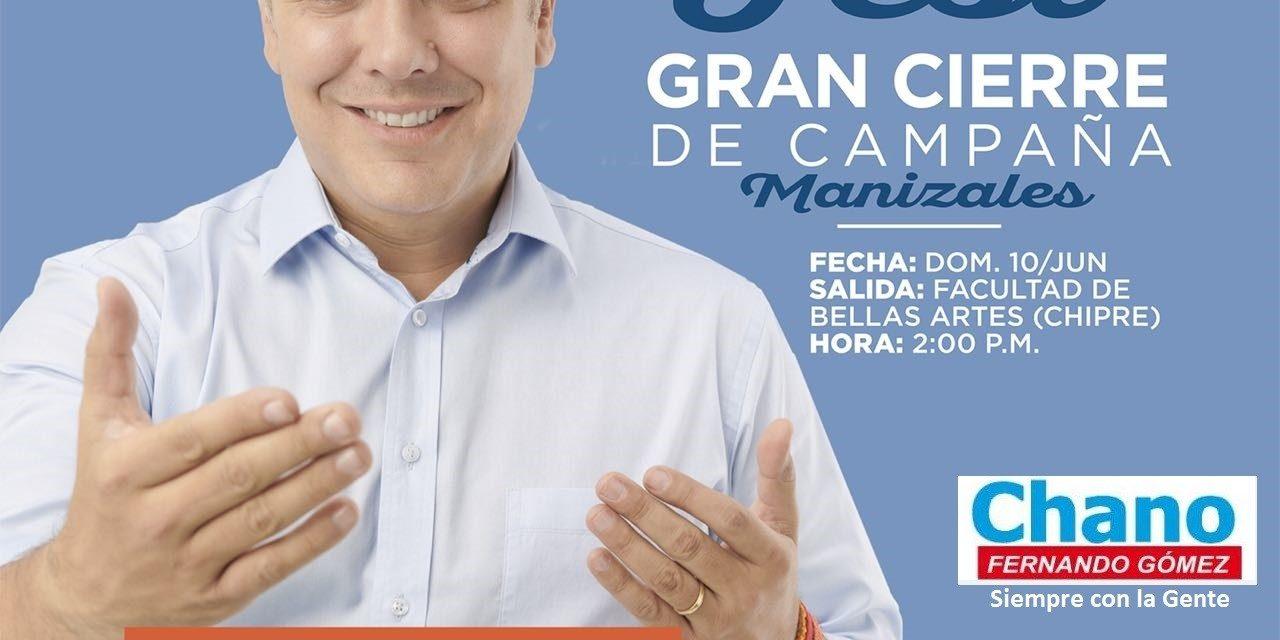 Gran Cierre de Campaña «DUQUE»