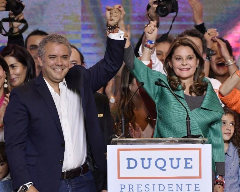 """Discurso/ """"Voy a entregar todas, absolutamente todas mis energías por unir a nuestro país"""": Duque"""