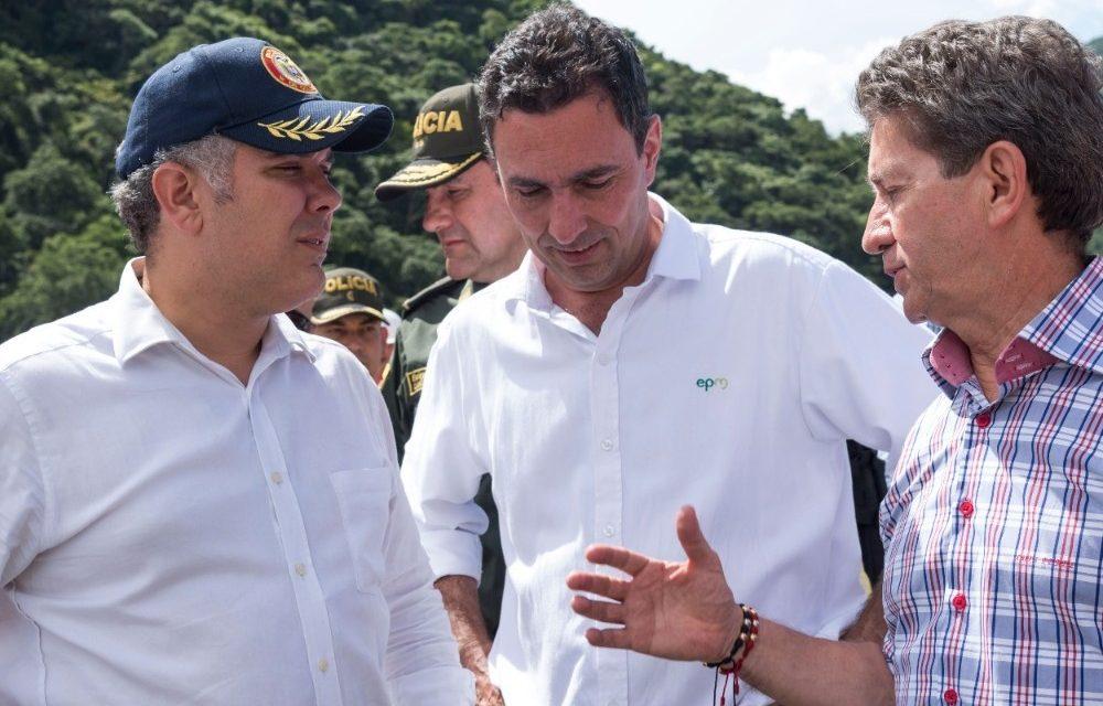 Declaración del presidente electo, Iván Duque, luego de visitar el Proyecto Hidroeléctrico Ituango