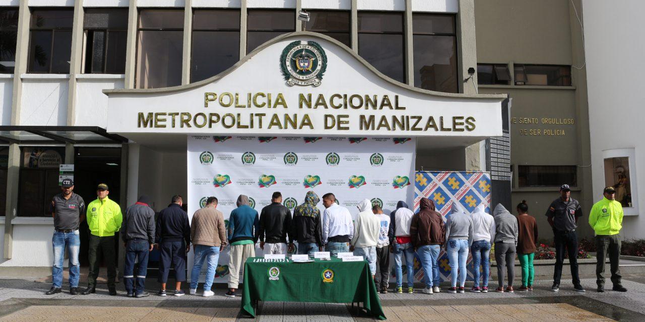 GOLPE CONTUNDENTE A ESTRUCTURA DELINCUENCIAL DE TRÁFICO DE ESTUPEFACIENTES  – OPERACIÓN ORIÓN