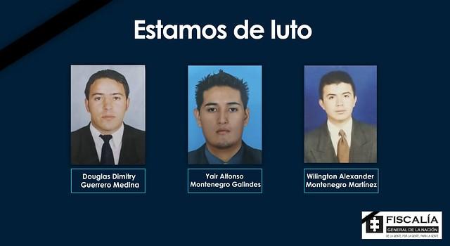 Disidencias de Farc masacran a tres miembros del CTI