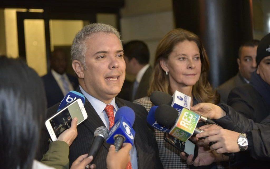 Presidente Duque hace un llamado a 'ponernos la camiseta por el Pacífico colombiano'