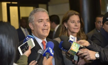 Declaración del presidente electo, Iván Duque, y la vicepresidenta Marta Lucía Ramírez