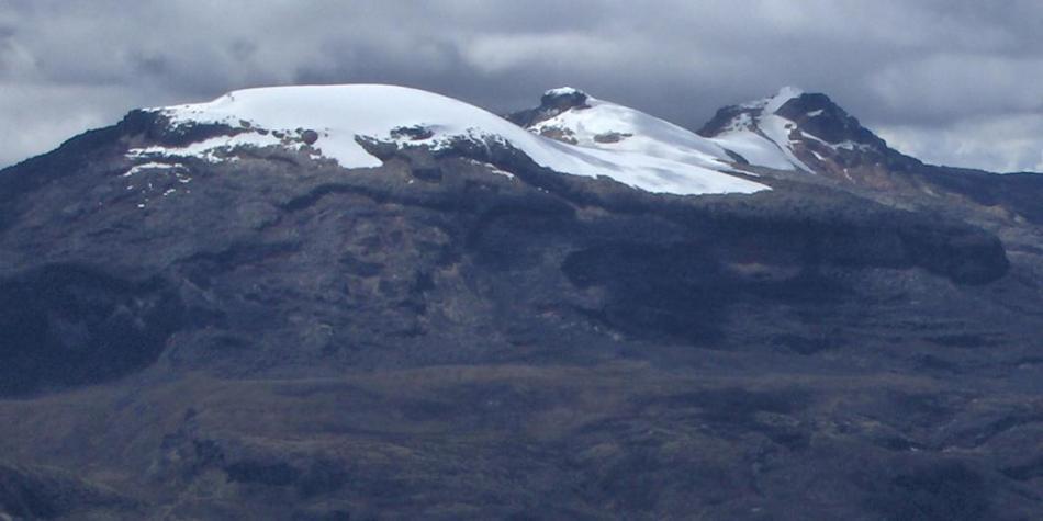 En dos años se extinguió el 5,8 % del área glaciar en Colombia