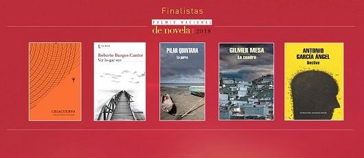 Estos son los cincos finalistas del Premio Nacional de Novela del Ministerio de Cultura