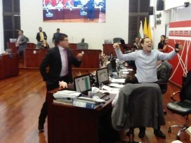 """""""No puedo permitir que se me chispotee una sesión"""": Orlando Quiceno, presidente del Concejo de Manizales"""