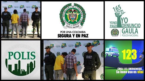 GAULA DE LA POLICÍA CAPTURA A DOS HOMBRES POR EL DELITO DE EXTORSIÓN