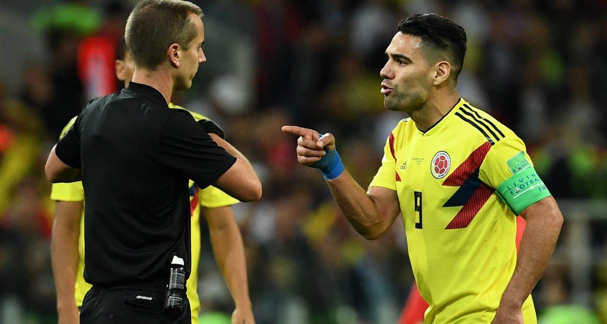 """""""El árbitro es una verguenza"""": Falcao y sus polémicas declaraciones sobre el juez del partido"""