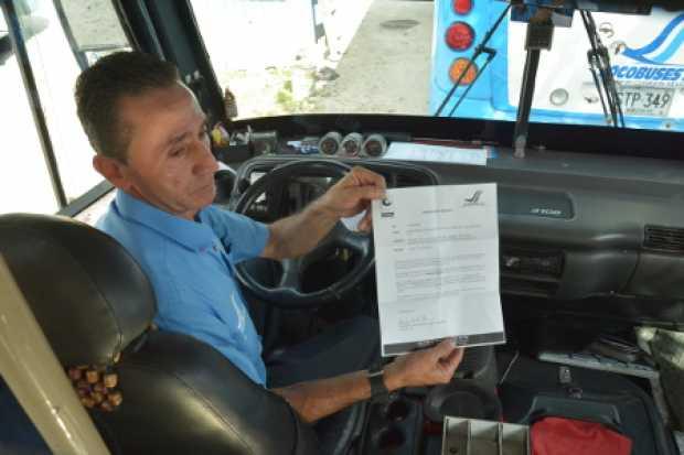 Rutas sin música para los conductores Socobuses