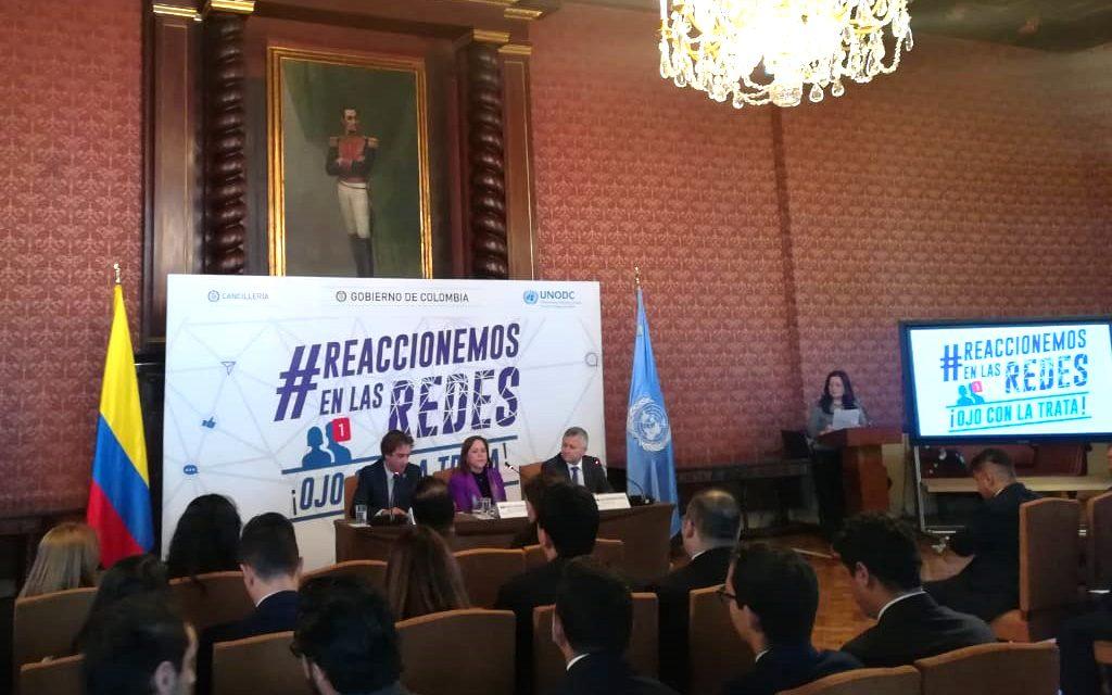 En el Día Mundial Contra la Trata de Personas, Cancillería lanza campaña para prevenir este delito a través de las redes sociales