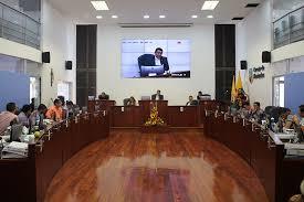 Concejales de Manizales conocieron el informe de gestión y plan de acción del Cuerpo Oficial de Bomberos