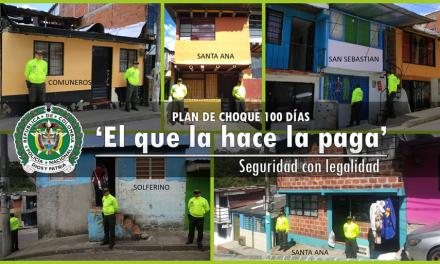 EN MANIZALES, 'EL QUE LA HACE LA PAGA'