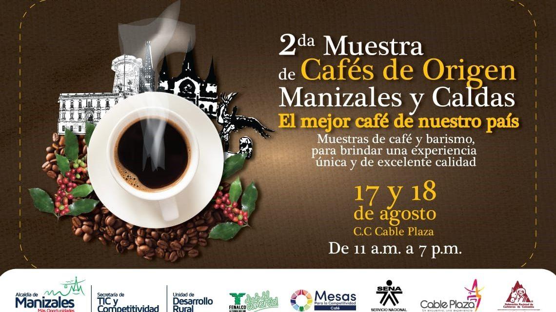 La mejor feria de Cafés de Origen se realizará  en Manizales este fin de semana