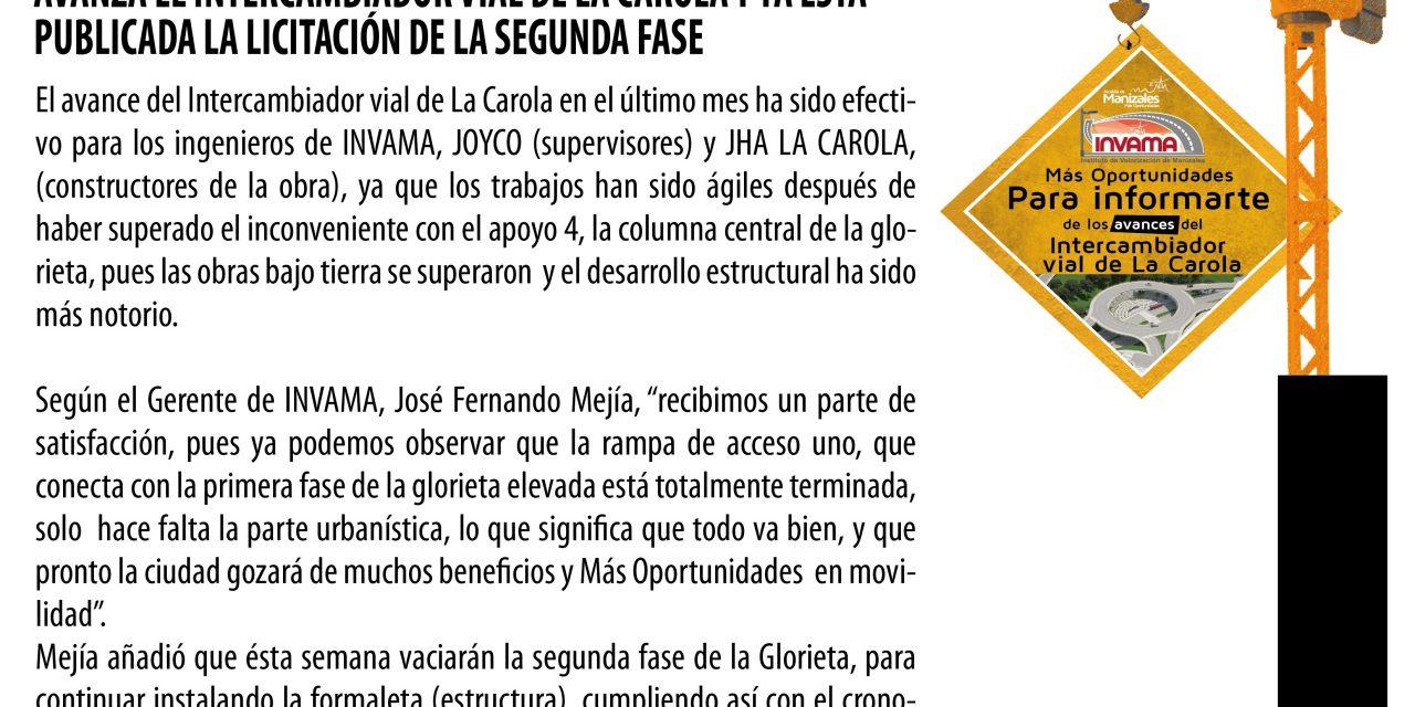 BOLETÍN DEL INTERCAMBIADOR VIAL