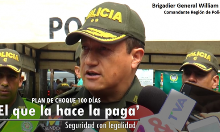 """EN EL EJE CAFETERO, """"EL QUE LA HACE LA PAGA"""", SEGURIDAD CON LEGALIDAD"""