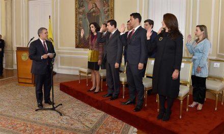 Presidente Duque posesionó a Secretaria Jurídica de la Presidencia, cinco viceministros y directores de cuatro entidades