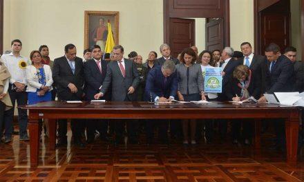 Presidente radica nuevo paquete legislativo de lucha contra la corrupción