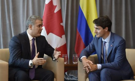 'Es una magnífica oportunidad para fortalecer los lazos entre Colombia y Canadá', dijo el Presidente Duque luego de reunión con Trudeau