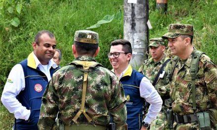 Con sus Multimisiones y capacidades los Soldados del Ejército Nacional llegaron hasta Marquetalia Caldas