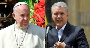 'Recibí con agrado el mensaje del Santo Padre para que sigamos haciendo esa política fraterna de recibir a los hermanos venezolanos': Presidente Duque