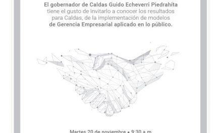 GERENCIANDO DESDE LO PÚBLICO EN CALDAS