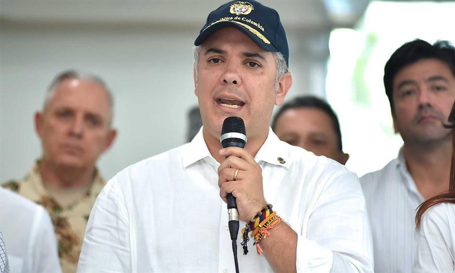 Presidente destaca contundente golpe de la Fuerza Pública contra red de tráfico de armas y operativo en el que fue abatido alias 'El Gurre', cabecilla del ELN
