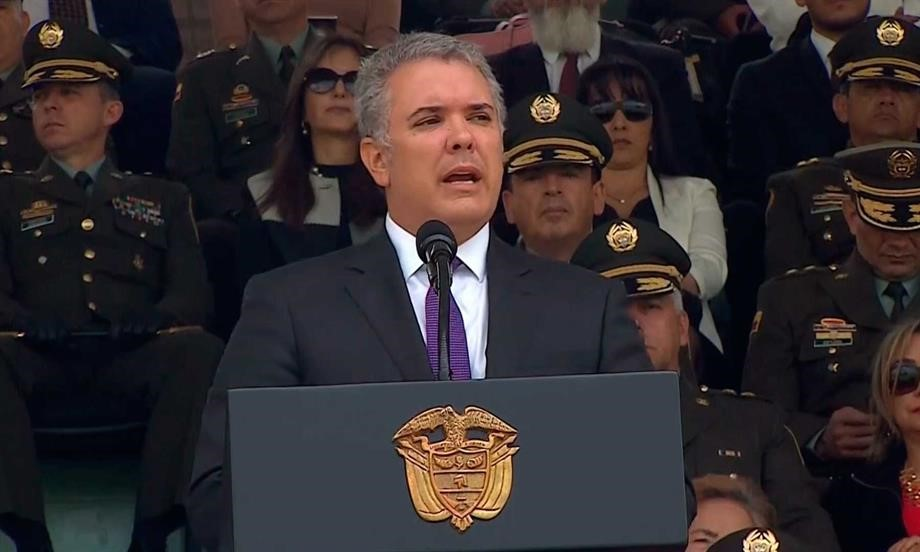 """Que la esperanza y el porvenir lleguen a cada uno de sus hogares, y que a donde ya llegaron, permanezcan"""", les dijo el Presidente Duque a los colombianos en su mensaje de Navidad"""
