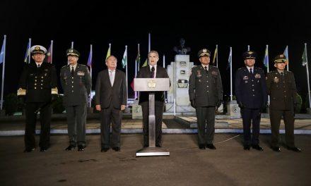 Yo quiero ver a la Policía Nacional fortalecida': Presidente