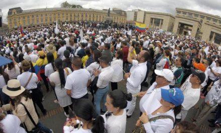 Colombia se unió este domingo para decir NO a los terroristas