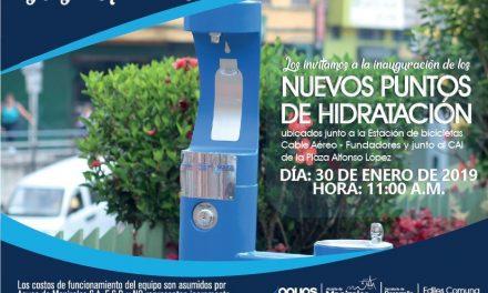 Invitación Inauguración Puntos de Hidratación