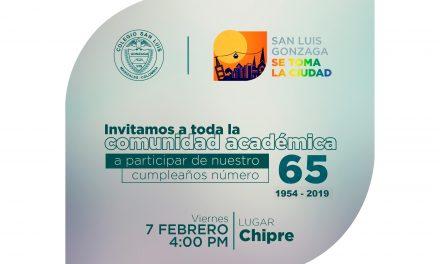 65 AÑOS FORMANDO HOMBRES Y MUJERES PARA EL MUNDO