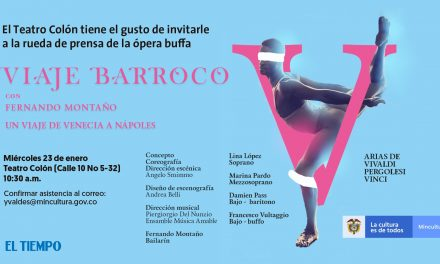 Invitación rueda de prensa Viaje Barroco con el bailarín Fernando Montaño