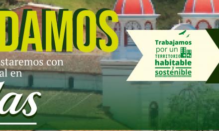 Corpocaldas llega al municipio de Aguadas