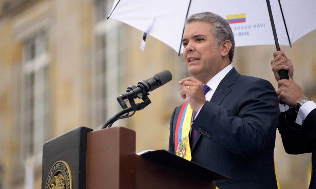 """Presidente Iván Duque aseguró que acata la decisión de la Corte Constitucional sobre objeciones a la JEP, pero que si tuviera que volver a presentarlas """"lo haría, porque los principios no se pueden dejar de defender"""""""