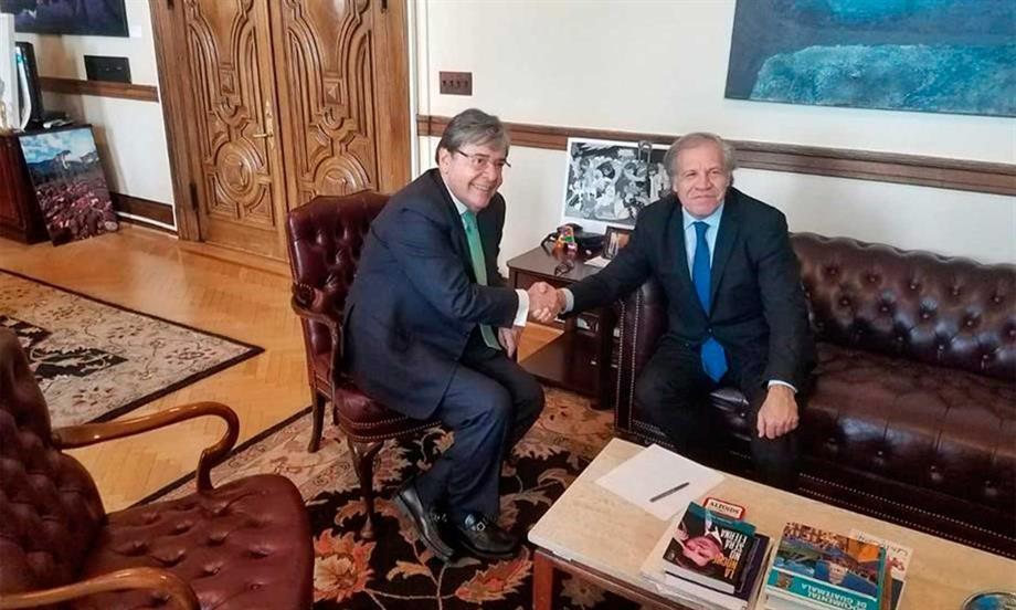 Colombia es un aliado fundamental en los procesos de fortalecimiento de la democracia del continente, afirmó el Secretario General de la OEA