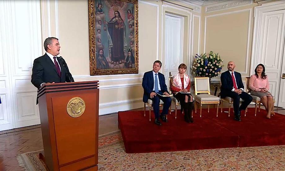 Le apostamos a la reactivación económica y en tan solo 6 meses de Gobierno ya se ven resultados: Presidente Iván Duque