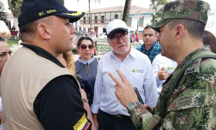 Ejército reitera que Caldas es un departamento Seguro